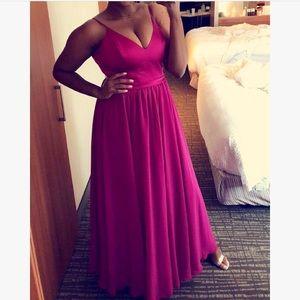 Allure Bridals Fuchsia Dress. Style: 1503XL
